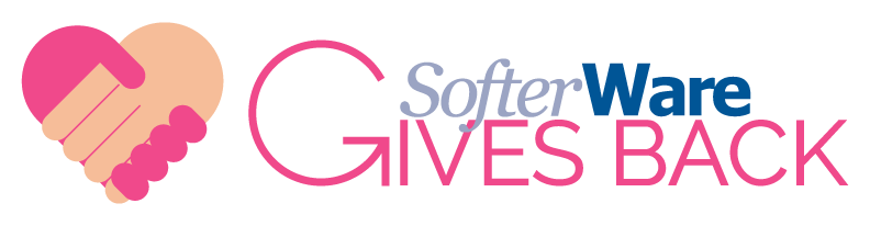 SofterWare Gives Back Logo